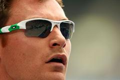 David Gillick of Ireland competes in the men's 400m heats in the Berlin Olympic Stadium (Getty Images)