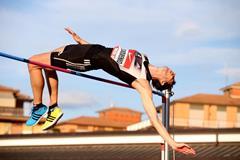 Bohdan Bondarenko at the 2014 IAAF Rieti World Challenge meeting (Giancarlo Colombo)