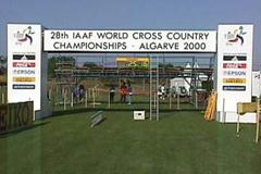 Behind the scenes in Vilamoura: The finish line (© IAAF)