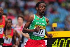 Esrael Awoke of Ethiopia during the boys 800m qualification day One - WYC Lille 6 July 2011 (Getty Images)