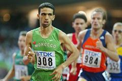 Hicham El Guerrouj in his 1500m semi final (Getty Images)