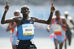Moses Masai, surprise winner of the men's 5000m in Berlin (Getty Images)
