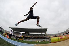 Garrett Scantling of United States competes during the Men's Long Jump portion of the Decathlon event on the day one of the 14th IAAF World Junior Championships  on July 10, 2012 in Barcelona, Spain (Getty Images)