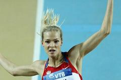 Darya Klishina of Russia competes in the Women's Long Jump qualification during day two - WIC Istanbul (Getty Images)