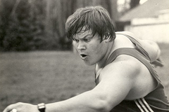 Soviet discus thrower Yuriy Dumchev ()