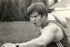 Soviet discus thrower Yuriy Dumchev ()