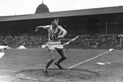 US decathlete Bob Mathias (Getty Images)