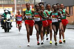 The female lead group in Birmingham (Getty Images)