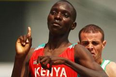 Asbel Kiprop (KEN) advances easily in the men's 1500m (Getty Images)