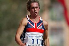 Lewis Robson of GBR in the Boys' 100m Octathlon at the World Youth Championships (Getty Images)