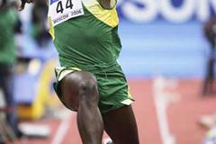 Jadel Gregorio of Brazil in action in the Triple Jump qualification (Getty Images)