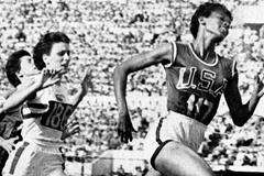 US sprinter Wilma Rudolph (Getty Images)