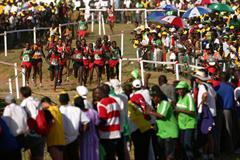 Junior men's race in Mombasa (Getty Images)