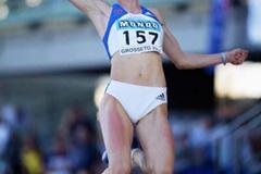 Denisa Scerbova of Czech Republic wins the Women's Long Jump Final (Getty Images)