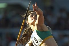 Joanna Stone at the 1995 IAAF World Championships (Getty Images)