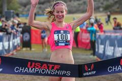 Mattie Suver wins the 2016 USATF Cross Country Championships  (Michael Scott/USATF)