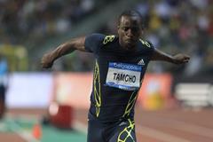 Teddy Tamgho at the 2013 IAAF Diamond League final in Brussels (Jean-Pierre Durand / IAAF)