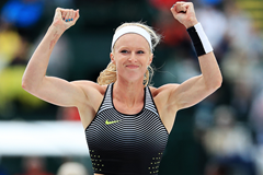 US pole vaulter Sandi Morris (Getty Images)