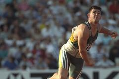 Marius Corbett at the 1997 IAAF World Championships (Getty Images)