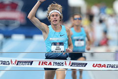 US steeplechaser Evan Jager (Getty Images)