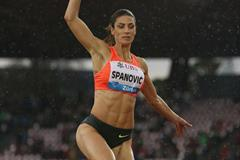 Ivana Spanovic at the 2015 IAAF Diamond League final in Zurich (Jean-Pierre Durand)