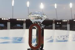 The Diamond Race trophy (Getty Images)