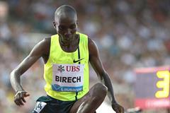 Jairus Birech at the 2014 IAAF Diamond League meeting in Lausanne (Giancarlo Colombo)