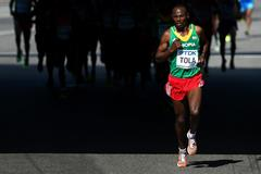 Tadese Tola at the 2013 IAAF World Championships (Getty Images)