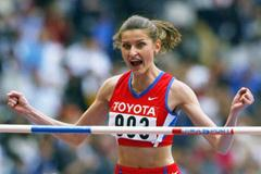 Anna Chicherova in Paris World Championships (Getty Images)