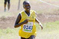 Florence Kiplagat in action at the Kenyan Police Cross Country Championships (David Ogeka / Photorun)