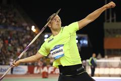 Tero Pitkamaki at the 2015 IAAF Diamond League final in Brussels (Giancarlo Colombo)