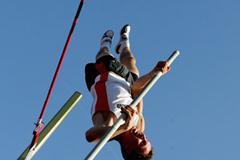 Nico Weiler of Germany wins the Pole Vault final (Getty Images)