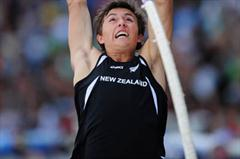 Nicholas SOUTHGATE of New Zealand in action during the Boys Pole Vault final - Day Five - WYC Lille 2011 (Getty Images)