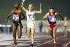 Adere Berhane outdips Gabriela Szabo (Getty Images)
