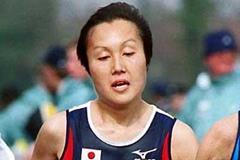 Miwako Yamanaka of Japan - 4th, 2002 World XC women's long course race in Dublin (Mark Shearman)