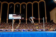 Bohdan Bondarenko at the 2014 IAAF Diamond League meeting in Monaco (Philippe Fitte)