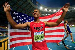 Ashton Eaton | USA Flag | Moscow Gold ()