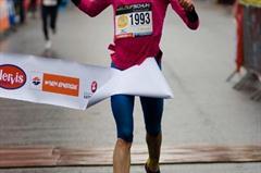 Andrea Mayr breaks the Austrian Half Marathon record in Vienna (Freelance)