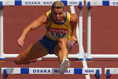 Susanna Kallur impressive in the heats of the women's 100m Hurdles (Getty Images)