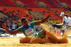 Mauro Vinicius da Silva at the 2013 IAAF World Championships (Getty Images)