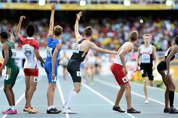 The mixed 4x400m relay at the IAAF World Youth Championships, Cali 2015 (Getty Images)