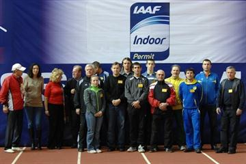 Participants of the Area Starter Course at RDC Moscow (IAAF)