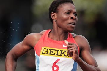 Botswana's Amantle Montsho in action in the 400m (Getty Images)