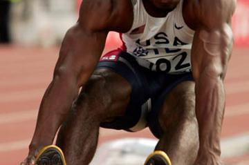 Dwight Phillips of the US qualifies for the men's Long Jump final (Getty Images)