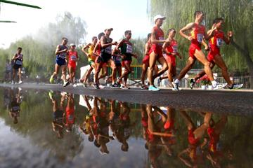 The men's 20km race walk at the IAAF World Championships, Beijing 2015 (Getty Images)