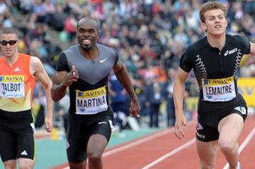Christophe Lemaitre runs 19.91 in Crystal Palace (Mark Shearman )