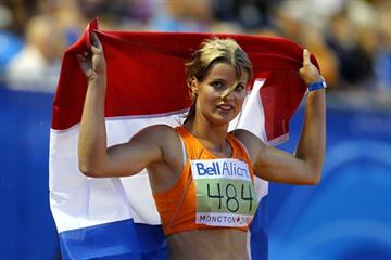 With four individual PBs and an overall PB score of 5967, Dafne Schippers wins World Junior Heptathlon gold (Getty Images)