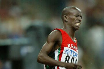 Ezekiel Kemboi at the 2003 Weltklasse meeting in Zurich (Getty Images)