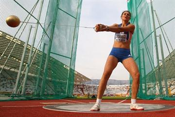 Tatyana Lysenko takes the IAAF / VTB Bank Continental Cup title with a last round throw (Getty Images)