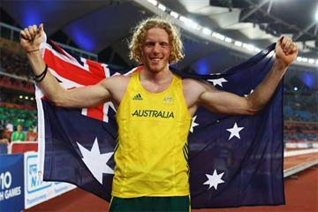 Australian pole vaulter Steven Hooker (Getty images)
